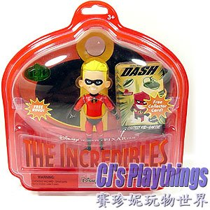 "Disney PIXAR The Incredibles 7"" action figure Dash"