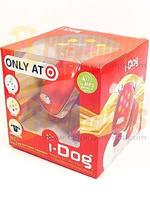 SEGA I-DOG IDOG RED Target Exclusive MP3/CD/IPOD HASBRO
