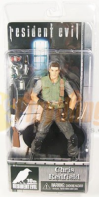 NECA Resident Evil 10th Anniversary Chris Redfield