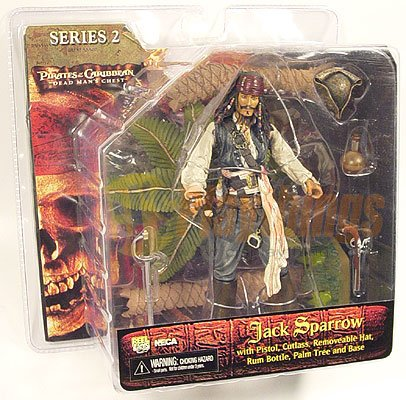 PIRATES OF CARIBBEAN Dead Man's Chest series 2 JACK SPARROW
