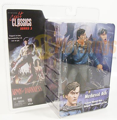 NECA Cult Classics Series 5 Medieval Ash Army of Darkness