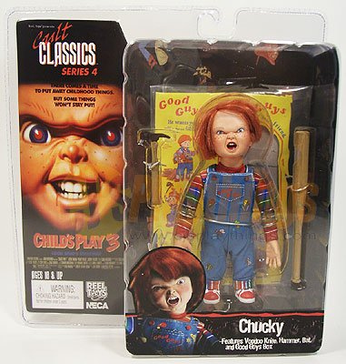 NECA Cult Classics Series 4 Action Figure Chucky w/ Good guy box