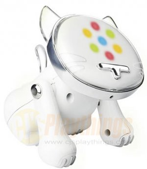 Hasbro I-CAT ICAT WHITE MP3/CD/IPOD NANO I-DOG IDOG