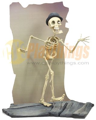 Mcfarlane Corpse Bride Action Figure Series 2 Skeleton Band Leader