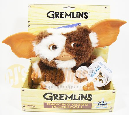 "NECA GREMLINS 7"" inch Dancing & Singing Gizmo Plush w/ sound"