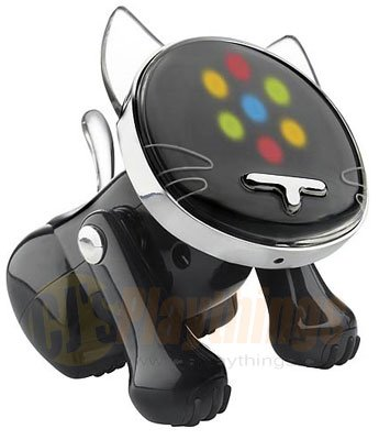 Hasbro I-CAT ICAT BLACK MP3/CD/IPOD NANO I-DOG IDOG