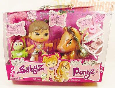 Bratz Babyz Baby Yasmin & her Pony Bonita 2 in 1