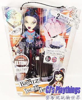 2005 Bratz World 2 London Pretty 'N' Punk Jade