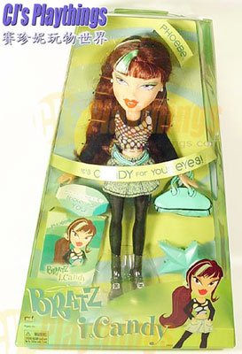 2005 Bratz iCandy i-Candy Phoebe (one of the Bratz Twins)
