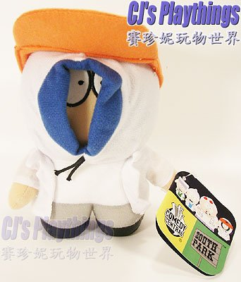 "South Park 6"" Plush Fingerbang Boy Band Kenny"