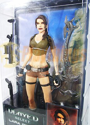 NECA Player Select series 1 Tomb Raider Legend Lara Croft