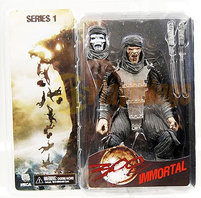 NECA 300 action figure Immortal w/ an extra head and accessory