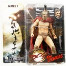 NECA 300 action figure Leonidas w/ an extra head & accessory