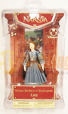 The CHRONICLES OF NARNIA Disney Action Figure LUCY Mint