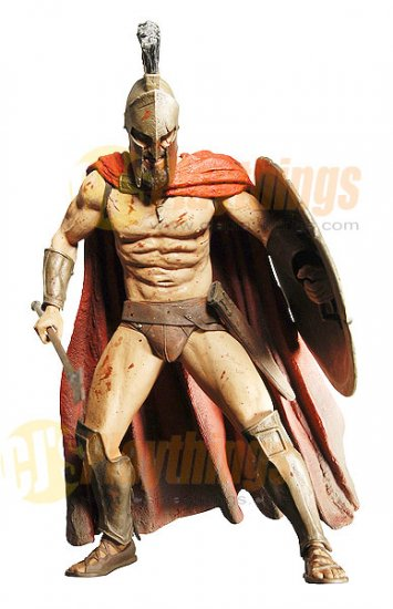 NECA 300 Spartan King Leonidas 12 inch talking w/ sound HOT OFF TRUCK!