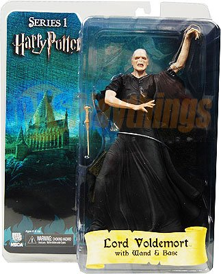 NECA Harry Potter Series 1 Voldemort  w/ Wand & Base new in stock