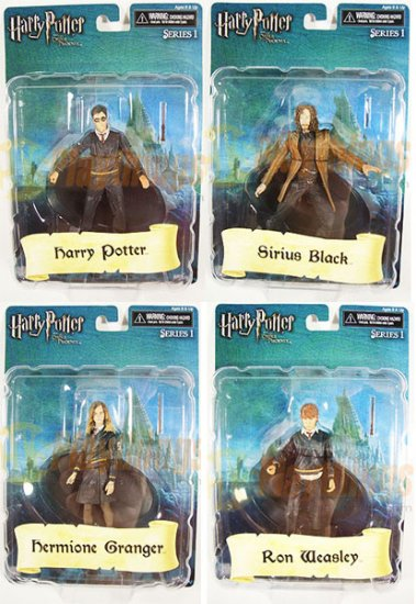 NECA Harry Potter Order of the Phoenix 3 3/4 -Inch Figures Series 1 set Ready to Ship