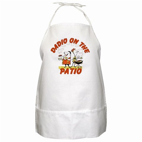 Dadio on the Patio BBQ Kitchen Apron with Pockets - 13287621