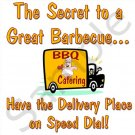 The Secret to a Great Barbecue BBQ Kitchen Apron with Pockets - 13310299