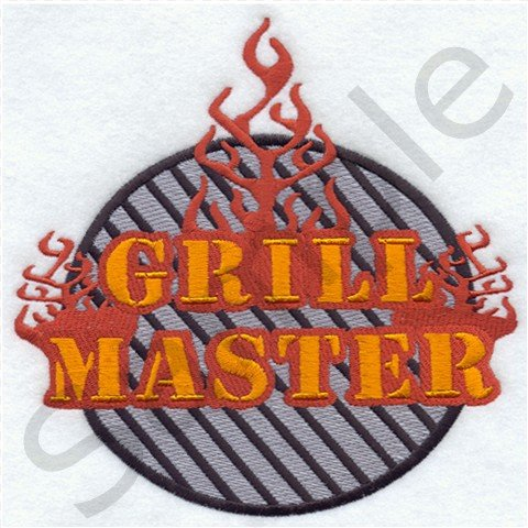 Grill Master BBQ Kitchen Apron with Pockets - 13310290