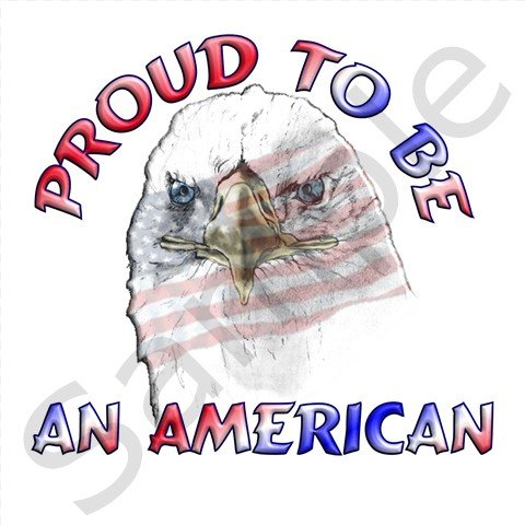 Proud To Be An American Eagle BBQ Kitchen Apron with Pockets - 13318651