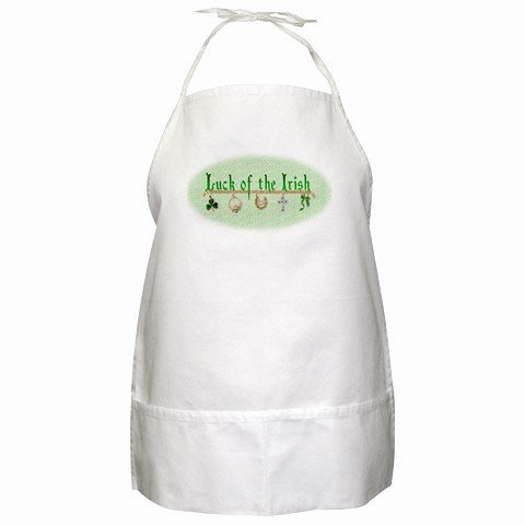 Luck of the Irish St. Patrick's BBQ Kitchen Apron with Pockets - 13318769