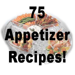 75 Appetizer RECIPES  Cookbook Ebook