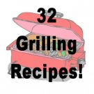 32 Bar-B-Q Grilling  RECIPES  Cookbook Ebook