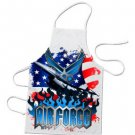 AIRFORCE Full design BBQ Kitchen Apron  #CT