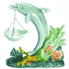 Porcelain Oil Burner - Dolphin