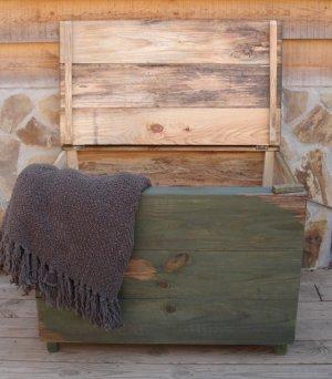 Handmade Blanket Chest / Toy Box