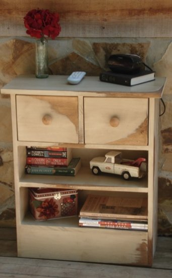 Nightstand with Drawers/Shelves