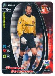 2001-02 Football Champions #213 Thomas Sorensen
