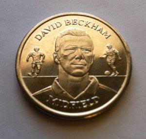 2004 David Beckham Official England Squad Medal