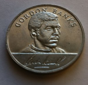 Gordon Banks - 1970 England World Cup Squad Medal