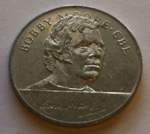 Bobby Moore - 1970 England World Cup Squad Medal
