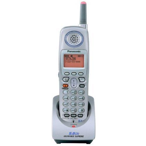 Panasonic Platinum 5.8GHz Expandable Cordless Telephone Handset