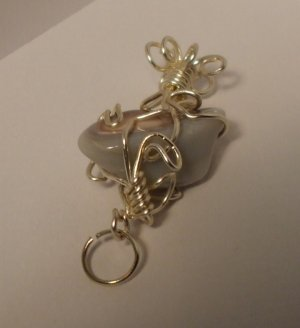 Beautiful Handcrafted Wire Wrapped Polished Agate