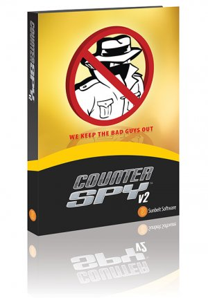 Spyware Malware Protection, CounterSpy two year subscription