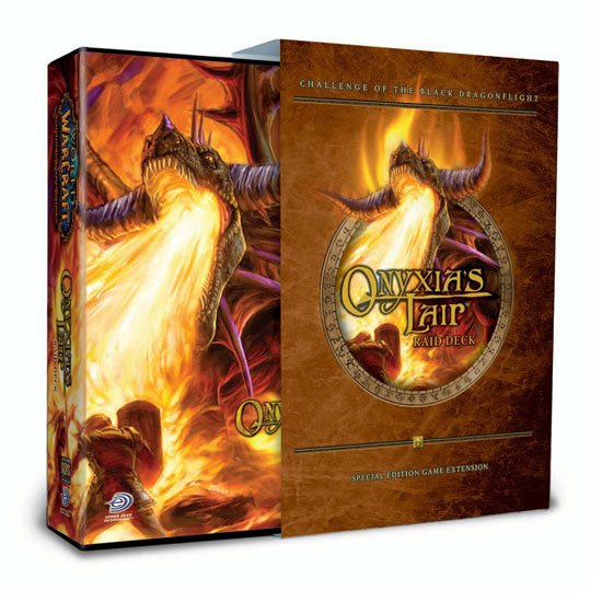 Trading Cards, World of Warcraft Onxyia's Lair Raid Deck