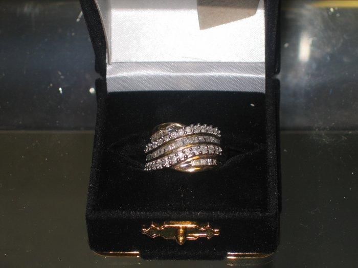 2ct diamond ring yellow gold