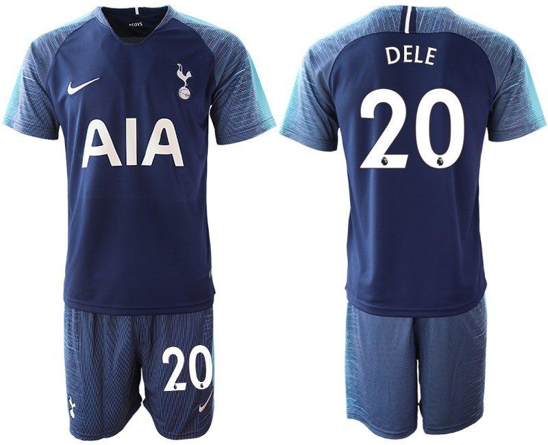huge discount 2b87d d1235 Men's Tottenham Hotspur Dele Alli Navy Away Soccer Jersey Shorts Sets