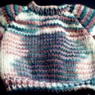 Handmade Multicolored Christmas Colors Sweater for 15 inch Bitty Baby Doll