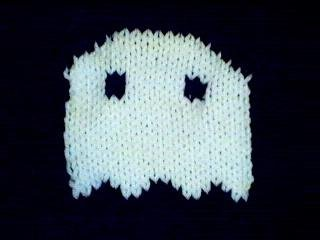 Handmade Halloween Ghost Sweater for 15 inch Bitty Baby Doll