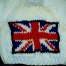 Handmade United Kingdom Union Jack Flag Sweater for 15 inch Bitty Baby Doll