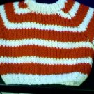 Handmade Build A Bear Sweater - Two Stripes