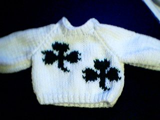 Handmade Our Generation Sweater - Two Shamrocks