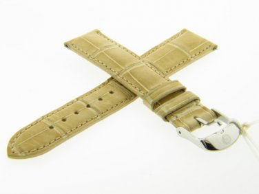 New flawless Genuine Michele mb026 18mm Hockey Alligator Watch Band Strap w/dustbag