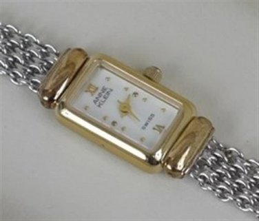 Lady's Anne Klein Swiss Watch TT MOP 126377 NMIB Women