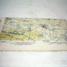 Large 1950's Aeronautical Wall Maps Charts CONUS